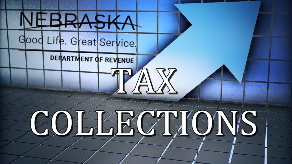 Nebraska state tax collections above projections in May