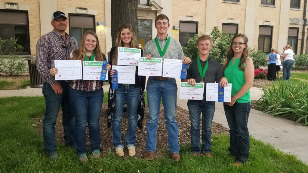 Dawson County 4-H Competes Well at Premier Animal Science Event in Lincoln