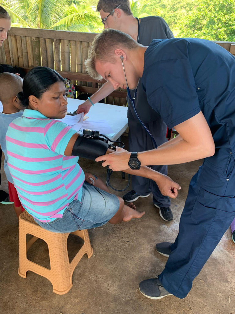 UNK students bring medical care to remote Panama islands