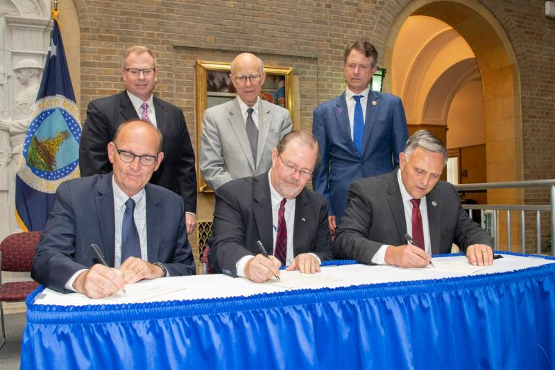 Signing Ceremony Sets Terms of NBAF Transfer From Homeland Security to USDA