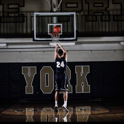 York's Danielson to play DI basketball