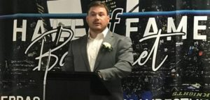 CSC's Hunter inducted into statewide hall of fame