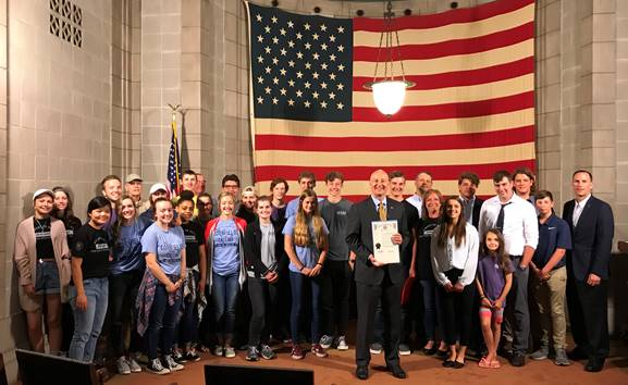 "Gov. Ricketts Proclaims ""Detasselers' Recognition Day"" in Nebraska"