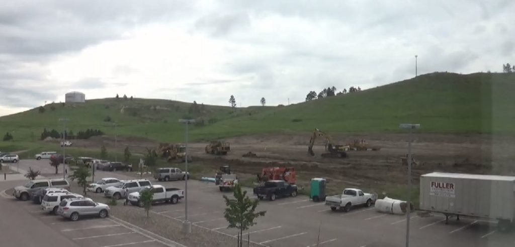 Construction of CSC track and field facility streaming live