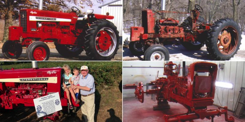 Secretary Perdue to Drive his International 656 Farmall Tractor in the Great Iowa Tractor Ride