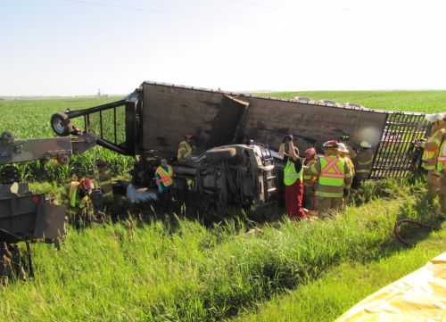 Public Responds to Assist in Custer County Fatal Crash