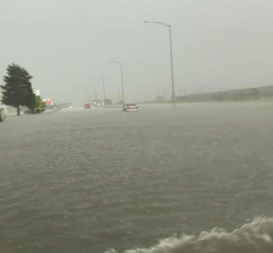 Flood warnings follow heavy rain in south-central Nebraska