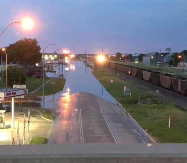 Storm runoff menaces Nebraska communities