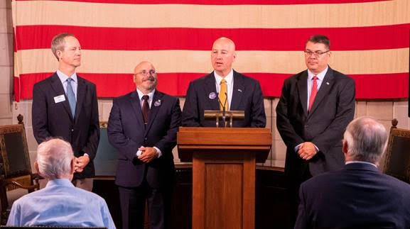 "Gov. Ricketts Announces ""Sorghum Cares"" Initiative with Sorghum Producers Association and Dept. of Veterans' Affairs"