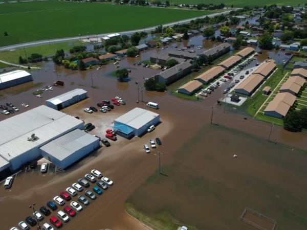 Portions of Central Nebraska Experiencing Widespread Flooding