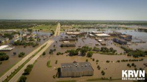 (Video) Flooding in Kearney, Nebraska - July 9, 2019
