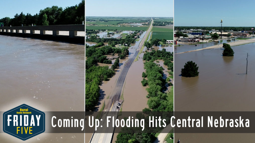 VIDEO: Flooding, Tractor Collision in Central Nebraska – Friday Five (July 12, 2019)