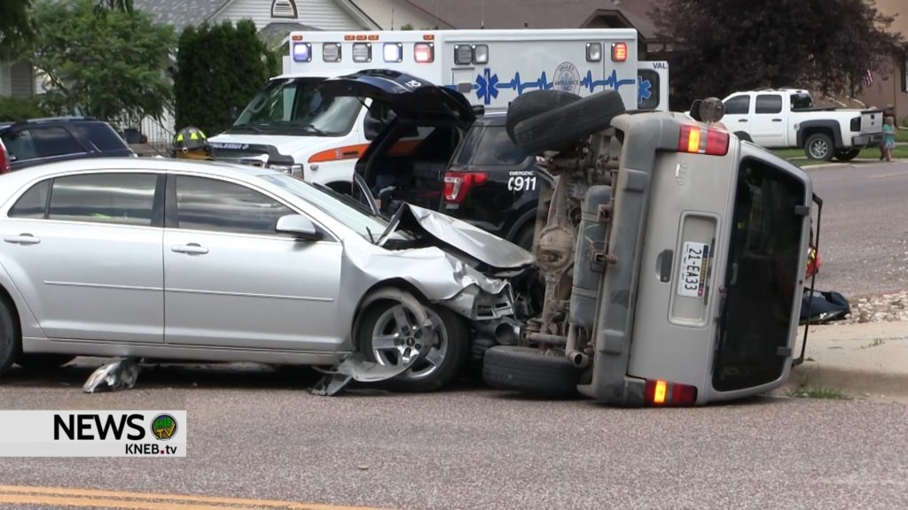 Two hospitalized following Scottsbluff crash