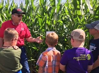 Crops and water on tap for field day