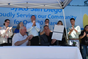 Secretary Perdue Visits Sysco for Signing of the Pledge to America's Workers