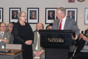 Susan M. Fritz, Ph.D., first woman to lead NU system, installed as University of Nebraska interim president