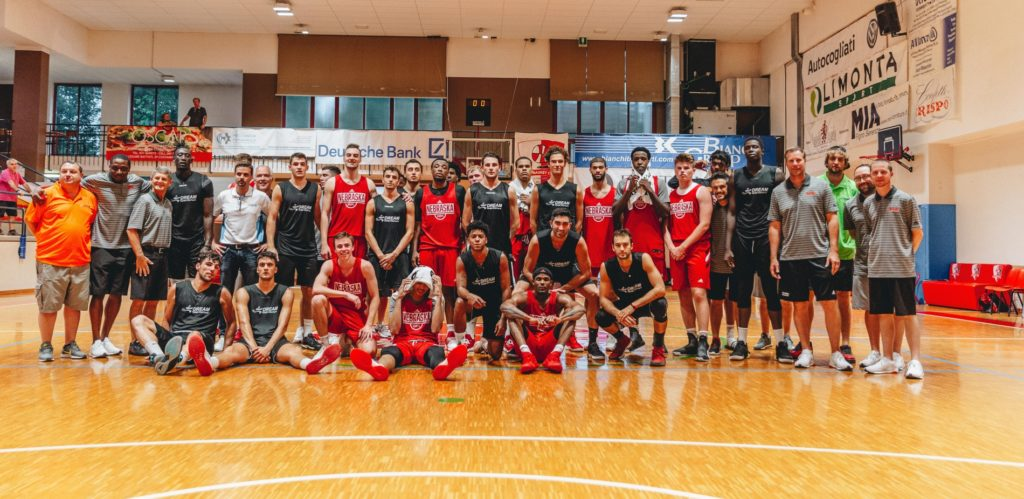 Easley Paces Huskers to Victory in Italy