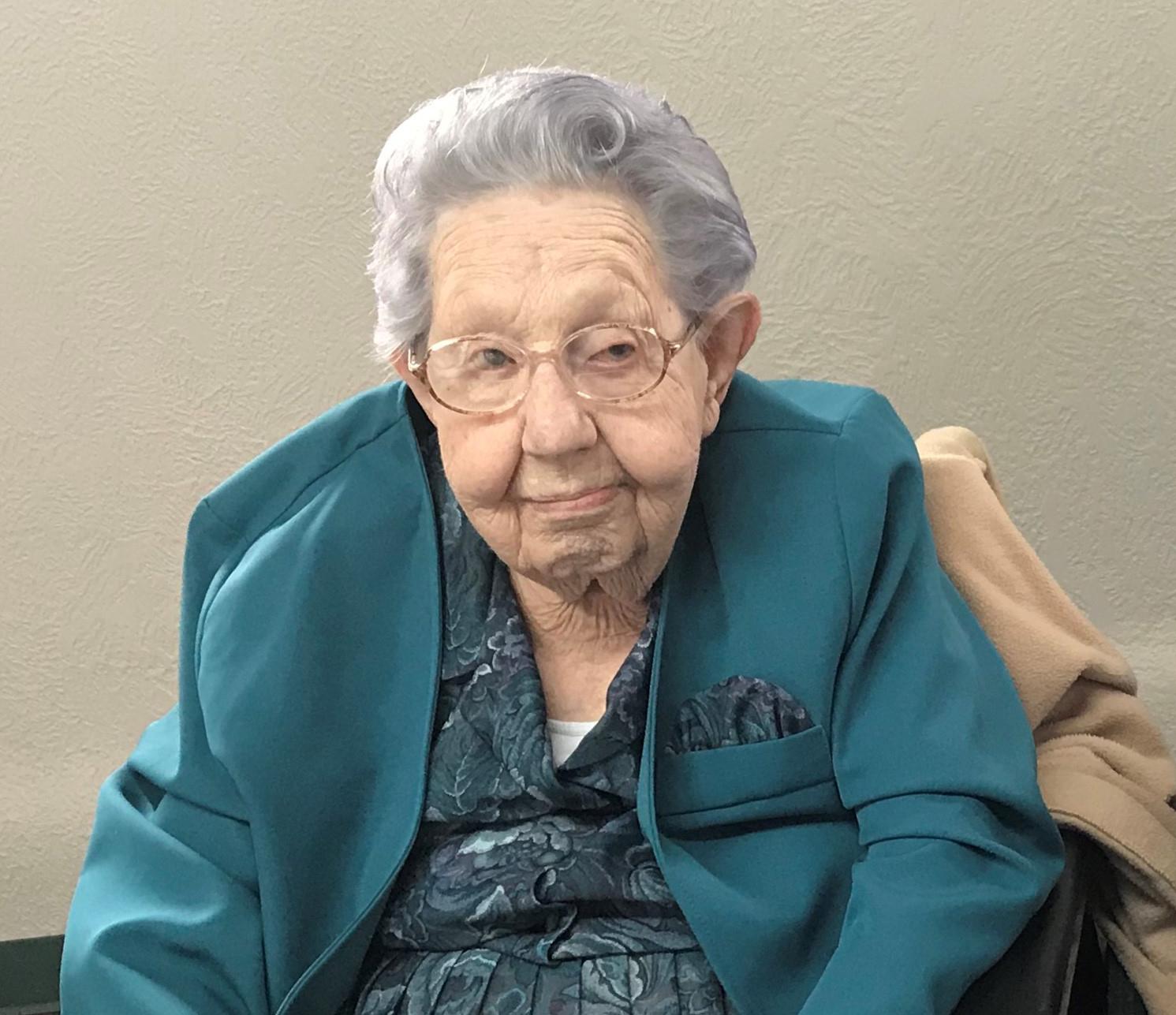 Berniece Rhinehart, age 100, of Arapahoe