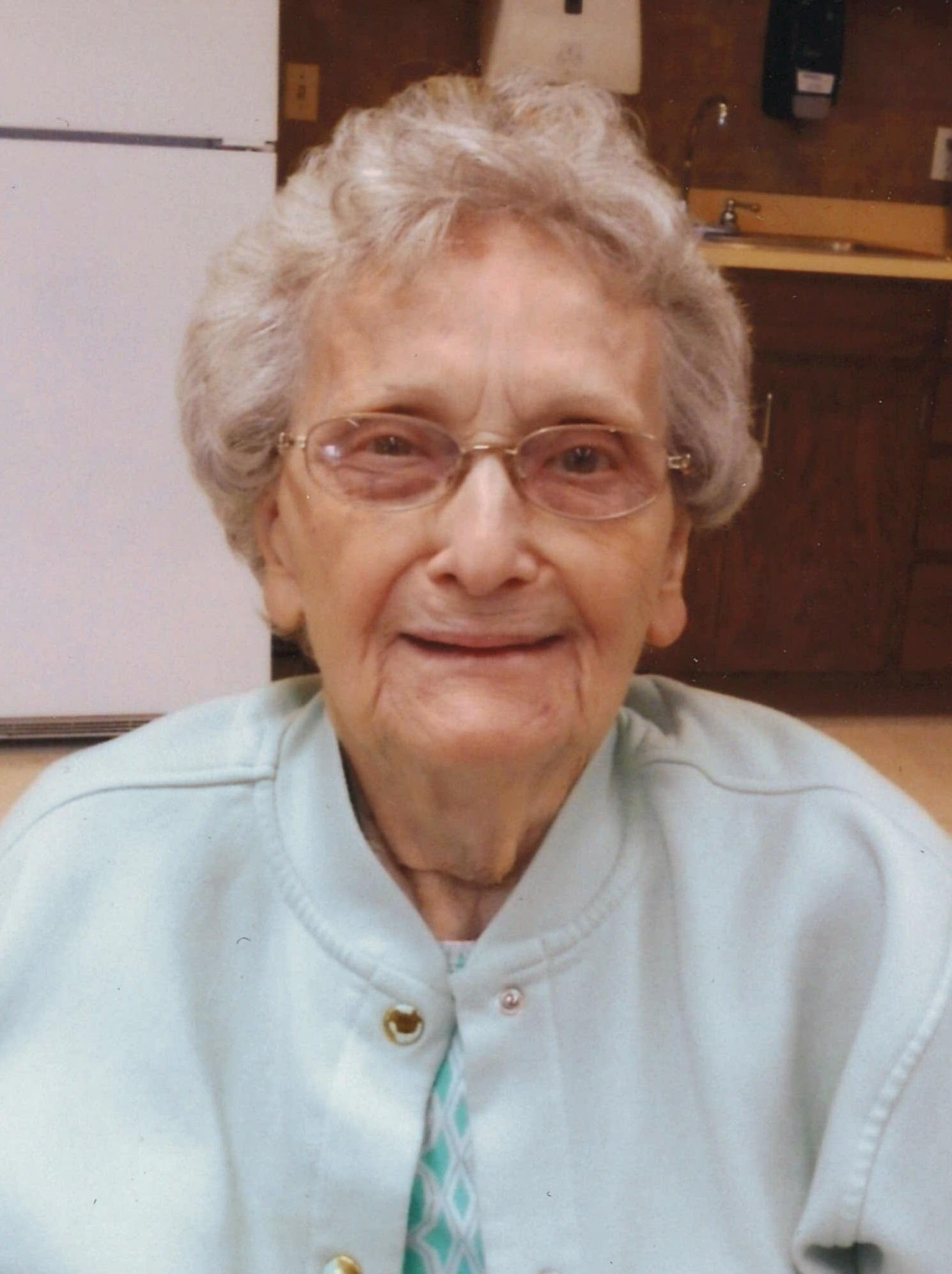 Arlene Hegemann, age 94, formerly of Howells, Nebraska
