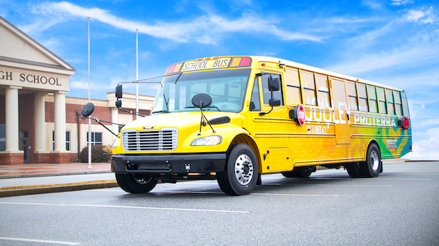 Maryland school district replacing diesel school buses with electric