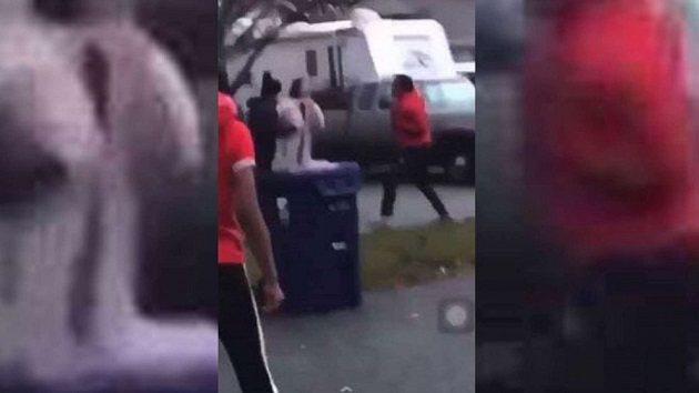 Washington teenager arrested for attack on Asian couple caught on video