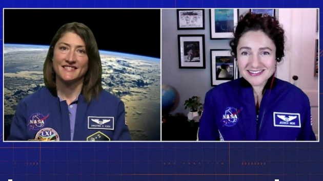 NASA astronauts Christina Koch, Jessica Meir talk about 2024 voyage to the moon