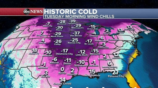 Another storm heading to snow-slammed South, vaccinations disrupted in Texas, Florida: Latest