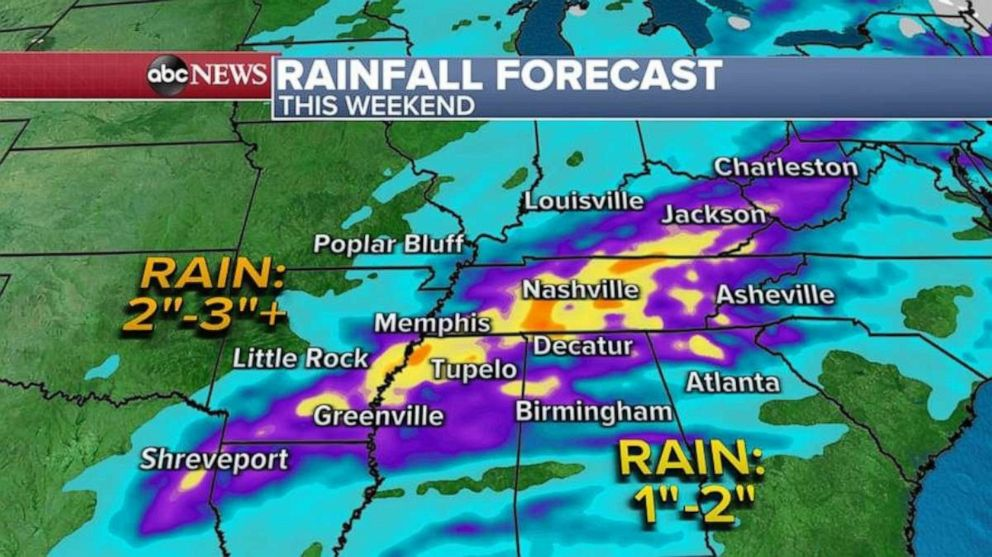 New severe weather threat takes aim at central and eastern US