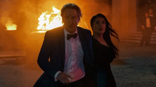 """'Bliss' stars Salma Hayek and Owen Wilson on dressing for the """"real"""" and """"ugly"""" worlds of their new movie"""