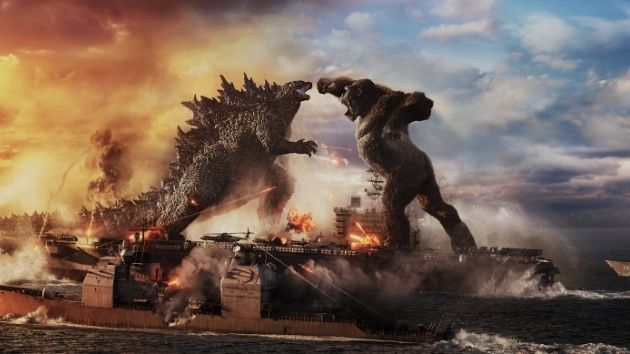 """Godzilla vs. Kong"" logs monstrous $9.6 million opening day"