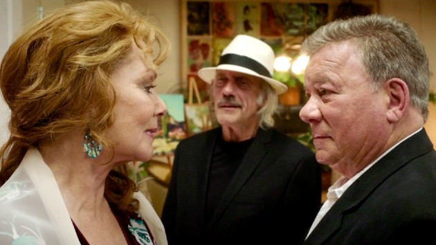 """""""Hunky"""" at 90? Check out William Shatner in 'Senior Moment', out today"""