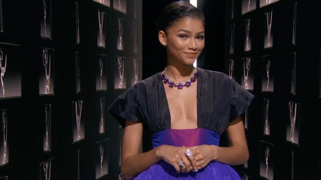 Zendaya corrects gendered question about her love life