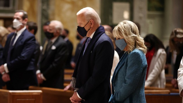 As Biden prays for healing, Catholics clash over president's faith