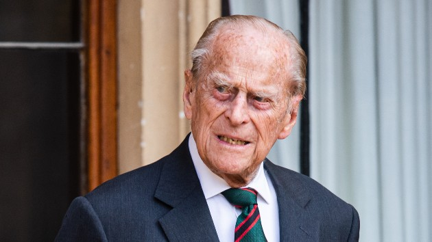 99-year-old Prince Philip hospitalized in London