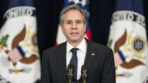 Secretary of State making his first 'trips' to Mexico and Canada — virtually