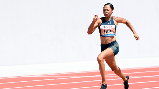 After a life-threatening pregnancy, Olympian Allyson Felix joins campaign to protect pregnant people