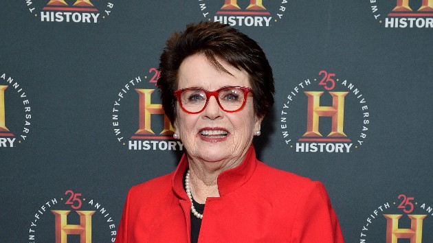 "First glimpse of ""All In: An Autobiography"" by Billie Jean King"