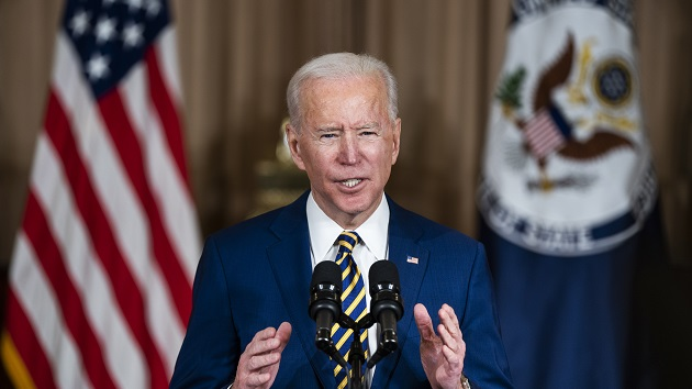 Biden signs memo on protecting LGBTQ rights worldwide, as he's set to deliver 1st major foreign policy speech