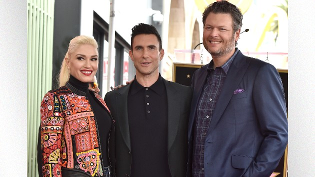 "Adam Levine on playing Blake & Gwen's wedding: ""They can't afford me"""