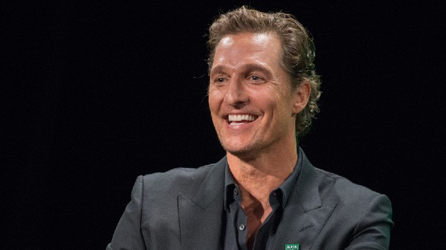 "Matthew McConaughey insists rumors that he rejected leading role in 'Titanic' are ""not factual"""