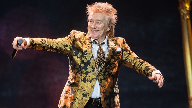 "Rod Stewart has a ""whole new album"" ready to go, says wife Penny Lancaster"