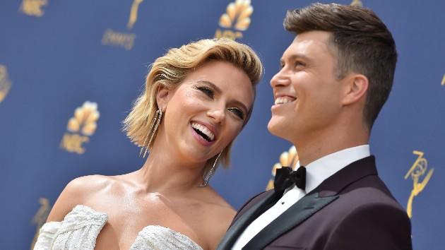 SNL's Colin Jost was no help planning his wedding to Scarlett Johansson