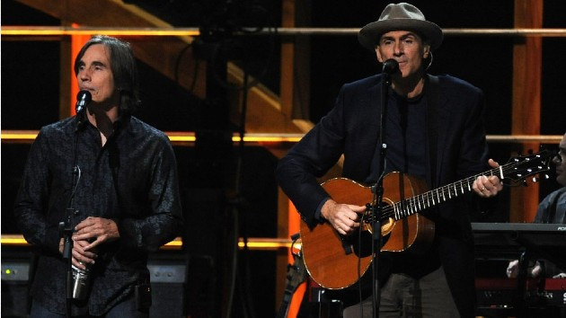 James Taylor & Jackson Browne reschedule their US tour for this summer