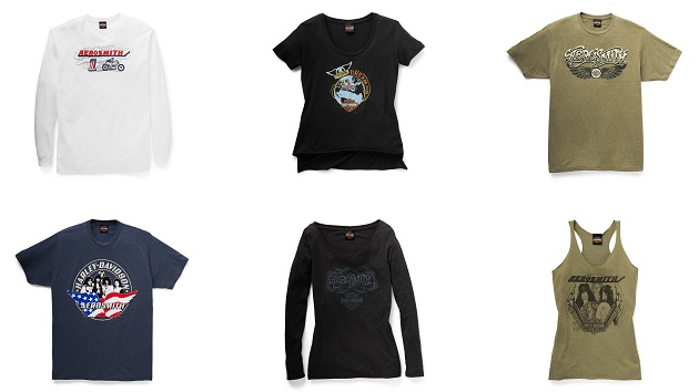 Aerosmith joins forces with Harley-Davidson for limited-edition apparel collection