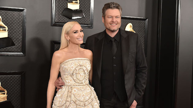 "Blake Shelton's first impression of Gwen Stefani? She was the rock star who drove a ""black minivan"""