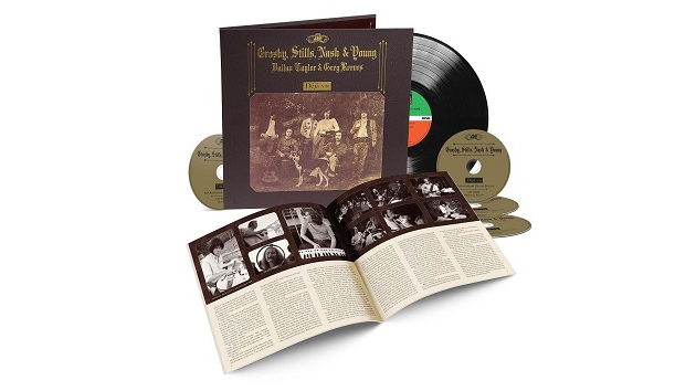 """Check out unreleased CSNY outtake """"Ivory Tower"""" from upcoming deluxe 50th anniversary 'Déjà Vu' reissue"""