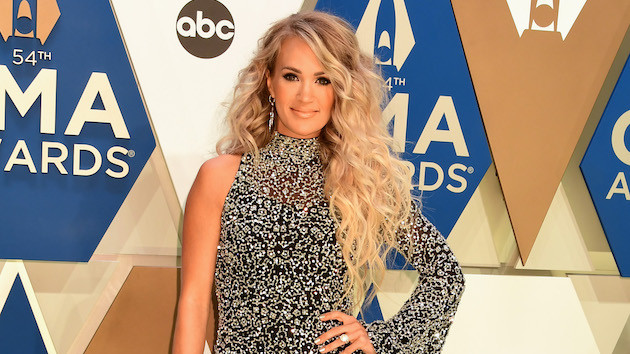 Carrie Underwood reveals the track list for her new gospel project, 'My Savior'