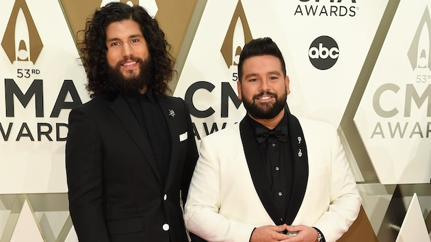 While stranded inside during an ice storm, Dan + Shay filmed a video for a fan's wedding request