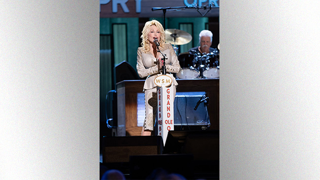 Dolly Parton auctioning off custom guitar for Opry Trust Fund