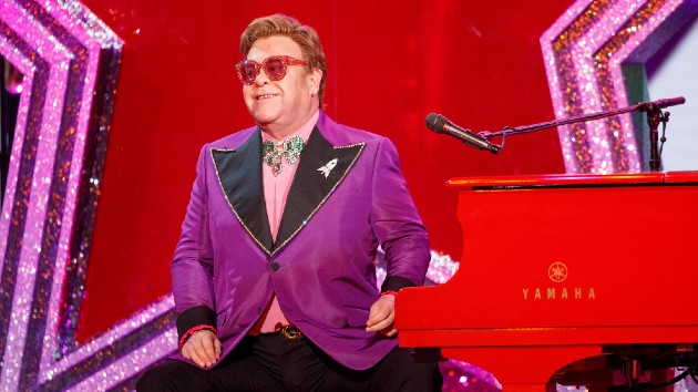 Elton John, Michael Caine comically encourage fellow Brits to get their COVID vaccine